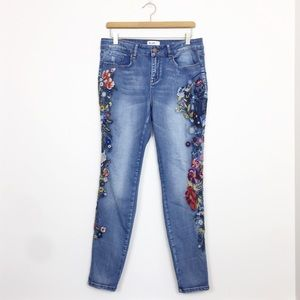 William Rast | Perfect Skinny Embroidered Jeans 30